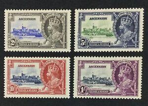 MOMEN: ASCENSION ISLAND 1935 MINT OG H £60 LOT #6691