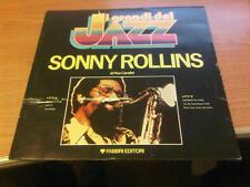 LP I GRANDI DEL JAZZ SONNY ROLLINS UNPLAYED
