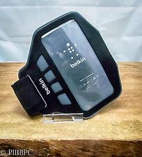 Phone 4 4S Belkin FastFit Sport Armband Case Cover Sleeve Sport Gym Jog Run