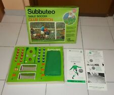 SUBBUTEO Table soccer CLUB EDITION 1976-77 – OTTIMO Calcio Football