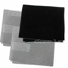 Cooker Hood Filters Kit for MIELE Extractor Fan Vent Grease Carbon Filter