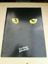 More details for richard armitage the hobbit  cats london musical souvenir brochure 1994
