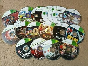 Over 100x Microsoft Xbox 360 Games, From £1.23 Each With Free Postage,Discs Only
