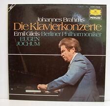 "BRAHMS DIE KLAVIERKONZERTE EMIL GILELS EUGEN JOCHUM 2LP-BOX 12""LP (e309)"