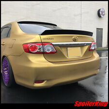 SPK rear window spoiler & trunk wing (Fits: Toyota Corolla 2011-13) 284R / 380B