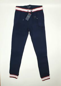 Armani Jeans AJ Blue Joggers Lounge Comfort Wear Gym Size XXL Drawstring Pockets