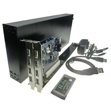 Laptop PC Expansion Cards with case enclosure 34&54 To 2 32bit PCI slots adapter