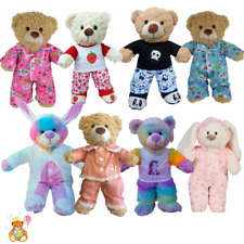 More details for pyjamas, pj - teddy bear clothes to fit 16