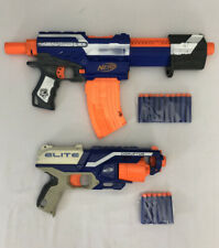 Nerf Gun Bundle Alpha Trooper CS12 with Banana 10 Mag + Disruptor + 16 Darts