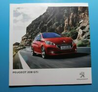 Peugeot 208 GTi Brochure 2014