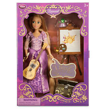 "DISNEY Princess Rapunzel 11"" Doll Tangled Singing Deluxe Doll Pascal Accessories"