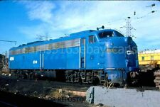 ORIGINAL SLIDE CONRAIL E8 4256 S AMBOY NJ 1979