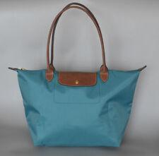 Longchamp New Le Pliage Nylon Tote Handbag ICE BLUE Large