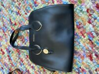 Trussardi Black Leather Women's Handbag