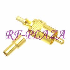 1pce Connector RCA AV male plug crimp RG174 RG316 LMR100 cable Straight