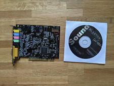 SoundBlaster Live CT4830 Soundkarte mit CD, guter Zustand