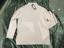 M&S Ladies Jumper With Wool BNWT Size Small Pale Lilac