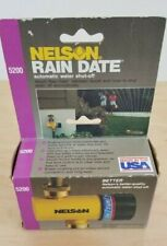 Nelson 5200 Automatic Lawn/Garden Water Timer NOS