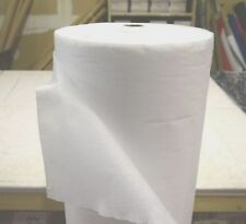 """WHITE LIGHT WEIGHT NON WOVEN FUSIBLE INTERLINING FABRIC 60""""WIDE BY THE YARD"""