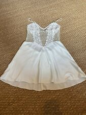 Flora Nikrooz Chemise Lace Ivory Nightgown Small
