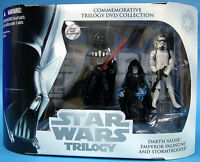 STAR WARS OTC ULTRA RARE WAL-MART EXCLUSIVE COMMEMORATIVE TRILOGY DVD COLLECTION