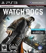 WATCH DOGS WATCHDOGS PS3 Game Used In Awesome Condition