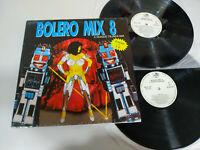 """Bolero Mix 8 a Quique Tejada Mix 1991 - Disco 2 X LP Vinilo 12"""" VG/VG"""
