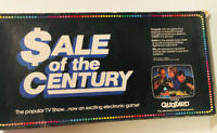 VINTAGE BOARD GAME - SALE OF THE CENTURY - 1986  TESTED - WORKS!!