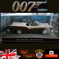 James bond 007 - FORD FAIRLANE - DIE ANOTHER DAY - 1/43 scale model car
