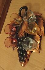 Vintage Glass Barware Whiskey Liquor Shot Glasses Multi-Color