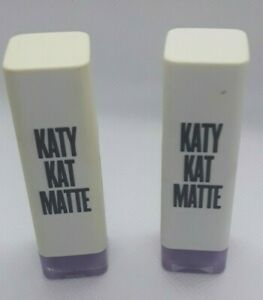 Lot of 2 Covergirl Katy Perry Katy Kat Matte Lipstick, KP08 Cosmo Kitty