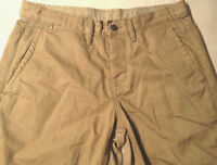 GAP Shorts Beige Chino Khaki Size 31 Mens or Boys LOOK NEW
