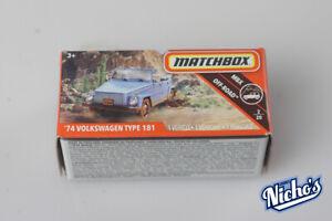 Matchbox '74 Volkswagen Type 181 MBX OFF-ROAD 2/20
