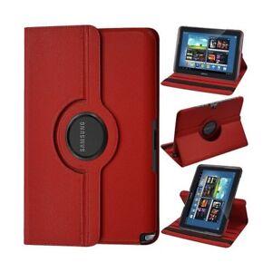 Housse coque étui luxe Samsung Galaxy Note10.1 N8000 avec rotation à 360 degrés