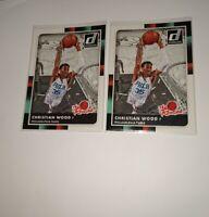"2015-16 Panini Donruss (1) "" The Rookies"" Chritian Wood RC 76er's Pistons HOT!"