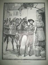 PORTUGAL LISBOA UN MARCHAND D'HUILE ECOSSE CHRISTMAS CONGO LAC STANLEY 1885