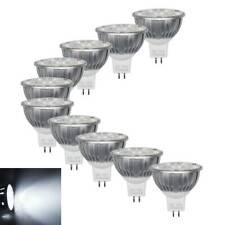 10x MR16 4W=35W LED Spotlight Bulbs Downlight Day White Replace Lamps DC12V