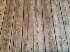 Dekostoff Fotodruck Holz Baumwollmischung Holzoptik 0,50 x 140cm