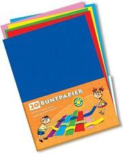 20 Blatt  Buntpapier   DIN A4