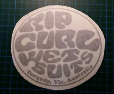 Pegatina Adhesivo Sticker Rip Curl surf 12 cms Sticker Aufkleber Autocollant