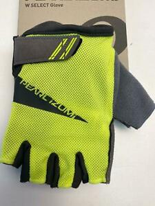 new Pearl Izumi WOMEN'S Select bicycle GLOVES Screaming YELLOW