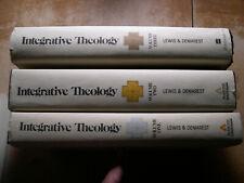 Intergrative Theology by Gordon Lewis & Bruce Demarest (H/B 1975 3 Vol. set)