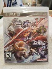 SOUL CALIBUR V Sealed NEW PlayStation 3 Namco Fighter Soul Calibur 5 PS3 New (9B