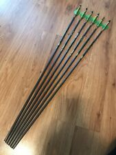 "NEW Carbon Express Wolverine Hunter 55-70, 6 Arrows Precut 30"" with Inserts"