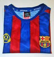 Optimus FC Barcelona BLANK Soccer Jersey  LFP - See desc for measurements