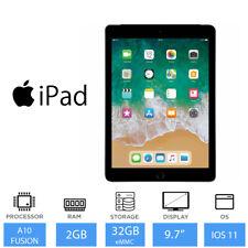 "Apple iPad (6th Gen) 9.7"" Cellular 32GB Tablet, 8MP+1.2MP Camera, iOS 11 MR6Y2/A"