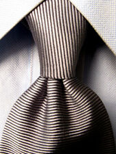 Brooks Brothers Maker Silver Silk Tie A5466