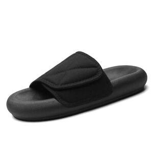 Summer Men's YZY Slides Mules Slippers Sandals Flip Flops Breathable Women Beach