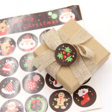 106pcs/lot Cute Kawaii Christmas Series Gift Seal Stickers Gift Label Packaging