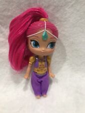 """Fisher-Price Shimmer & Shine Wishes Mini Doll 5"""" Genie Pink Hair"""